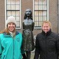 Amsterdam - Betsy, Anne Frank, Sharon