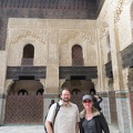 Fez - Bou Inania Madrasa - Ken and Sharon