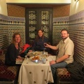 Fez - dinner at Al Fassia
