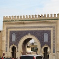 Fez - Blue Gate into the medina