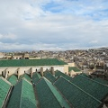 Fez - rooftops of the university (green)