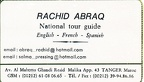 Rachid - tour guide