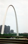 June 1997 - St. Louis Arch on the drive from East Lansing to Philmont