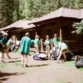 Fish Camp. Training Trek. After our crews slept on the porch, we packed up and headed for Webster Pass, Lookout Peak, and Lower