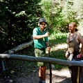 Ken Aldrich loading .50 cal black powder at Black Mountain camp.  The other guy's name is Allen.  Taken by Eric March.