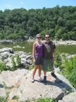 Laura and Ken at Great Falls