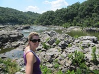 Laura Coon at Great Falls
