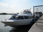 High Speed Hydrofoil boat from Vienna to Bratislava on the Danube