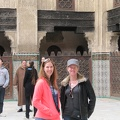 Fez - Bou Inania Madrasa - Betsy and Sharon