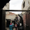 Fez - small streets in the medina