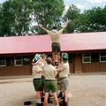Trust fall from the Ranger Bell.  The beginning of team training starts with building trust.