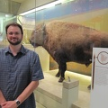 Ken and a bison